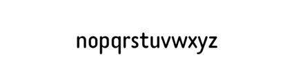 Tar Basic Book Font LOWERCASE