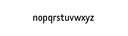 Tar Complete Book Font LOWERCASE