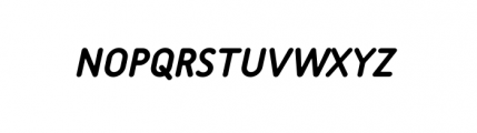 Tar Complete Medium Italic Font UPPERCASE