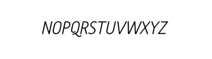 Tar Complete OldStyle LightItalic Font UPPERCASE