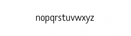 Tar Complete OldStyle Light Font LOWERCASE