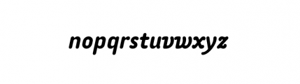 Tar Complete OldStyle MediumItalic Font LOWERCASE