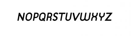 Target Alternate Book Italic Font UPPERCASE