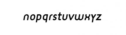 Target Alternate Book Italic Font LOWERCASE