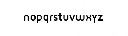 Target Alternate Book Font LOWERCASE