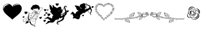TB Valentine B Font UPPERCASE