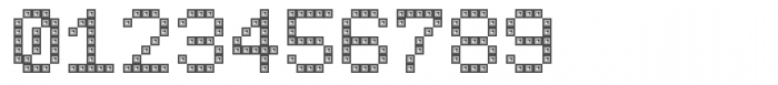 TBMatrix Domino Font OTHER CHARS