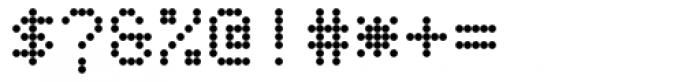 TBMatrix Dot Font OTHER CHARS