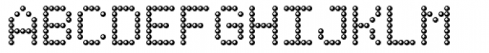 TBMatrix Sphere Font UPPERCASE