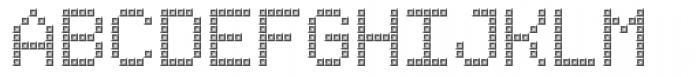 TBMatrix Tile A Font UPPERCASE