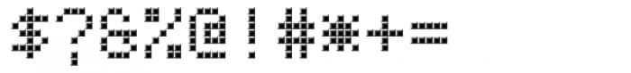 TBMatrix Tile B Font OTHER CHARS