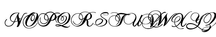 TC _Wedding1 Font UPPERCASE
