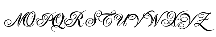 TC _Wedding2 Font UPPERCASE