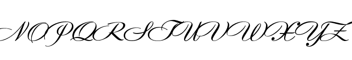TC _Wedding3 Font UPPERCASE