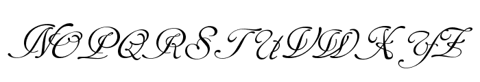 TC _Wedding4 Font UPPERCASE