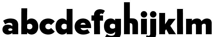 TCF 50s Bold Font LOWERCASE
