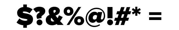 TCF Print Bold Font OTHER CHARS