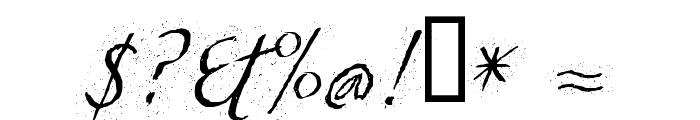 TCLescuelerascript Font OTHER CHARS