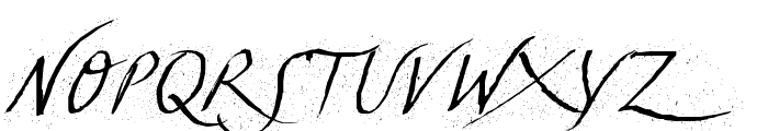 TCLescuelerascript Font UPPERCASE