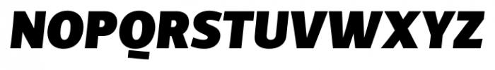 TCF Diple Black Italic Font UPPERCASE