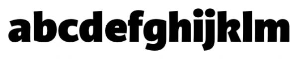 TCF Diple Black Font LOWERCASE