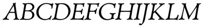 TC Administer RR Book Italic Font UPPERCASE