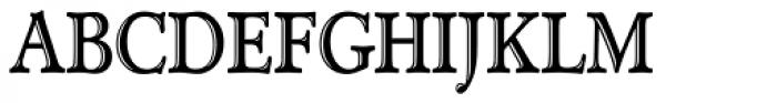 TC Administer RR Handtooled Cond Font UPPERCASE