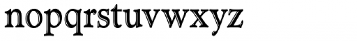 TC Administer RR Handtooled Cond Font LOWERCASE