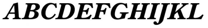 TC Century New Style Bold Italic Font UPPERCASE