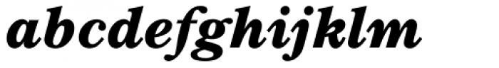 TC Century New Style Bold Italic Font LOWERCASE