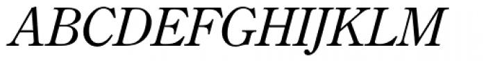 TC Century New Style Light Italic Font UPPERCASE