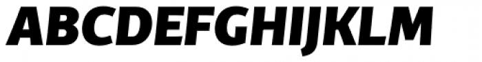 TCF Diple ExtraBold Italic Font UPPERCASE