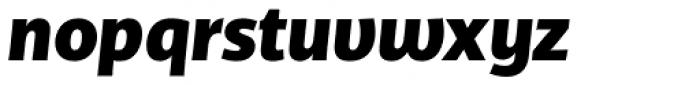 TCF Diple ExtraBold Italic Font LOWERCASE