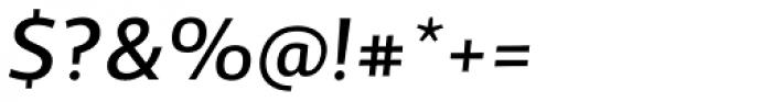 TCF Diple Medium Italic Font OTHER CHARS