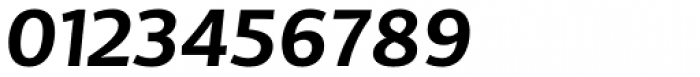 TCF Diple SemiBold Italic Font OTHER CHARS