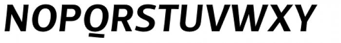 TCF Diple SemiBold Italic Font UPPERCASE