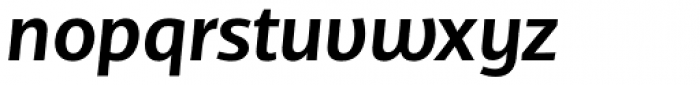TCF Diple SemiBold Italic Font LOWERCASE