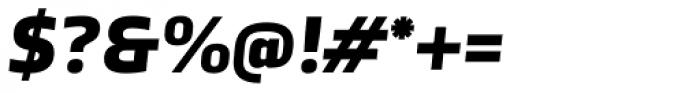 TCF Noli Black Italic Font OTHER CHARS