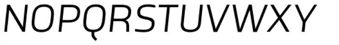 TCF Noli Book Italic Font UPPERCASE