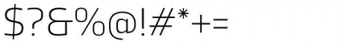 TCF Noli Light Font OTHER CHARS