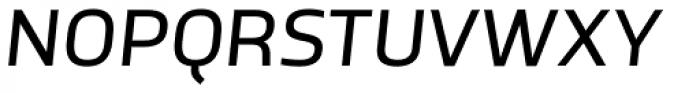 TCF Noli Medium Italic Font UPPERCASE
