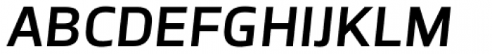 TCF Noli SemiBold Italic Font UPPERCASE