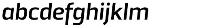 TCF Noli SemiBold Italic Font LOWERCASE