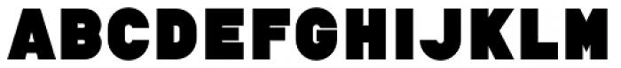 tdBastard ExtraBlack Font UPPERCASE