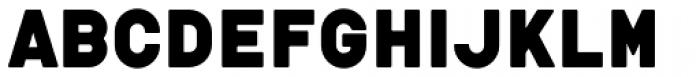 tdBastard Rounded Font UPPERCASE