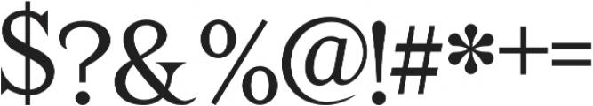 TESTER Regular otf (400) Font OTHER CHARS
