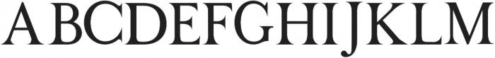 TESTER Regular otf (400) Font UPPERCASE