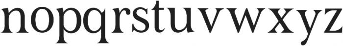 TESTER Regular otf (400) Font LOWERCASE