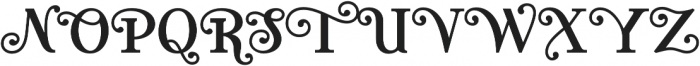 Teach otf (400) Font UPPERCASE