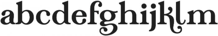 Teach otf (400) Font LOWERCASE